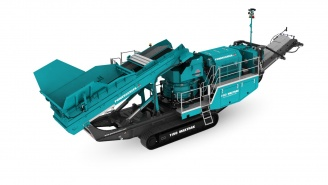 Powerscreen mobile Brechanlage Maxtrak-1150